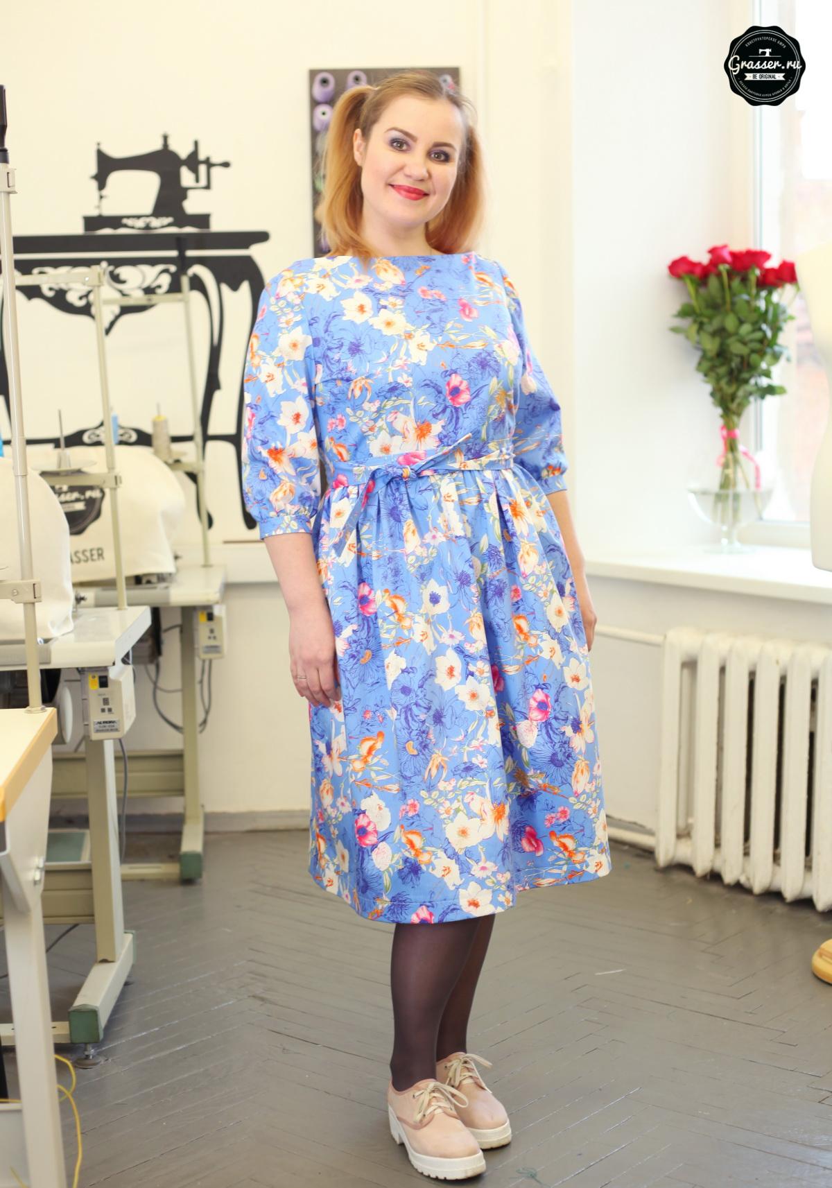 Оборудование при пошиве платья