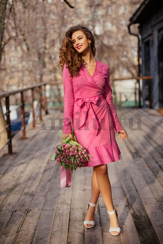 платье с запахом выкройка 44