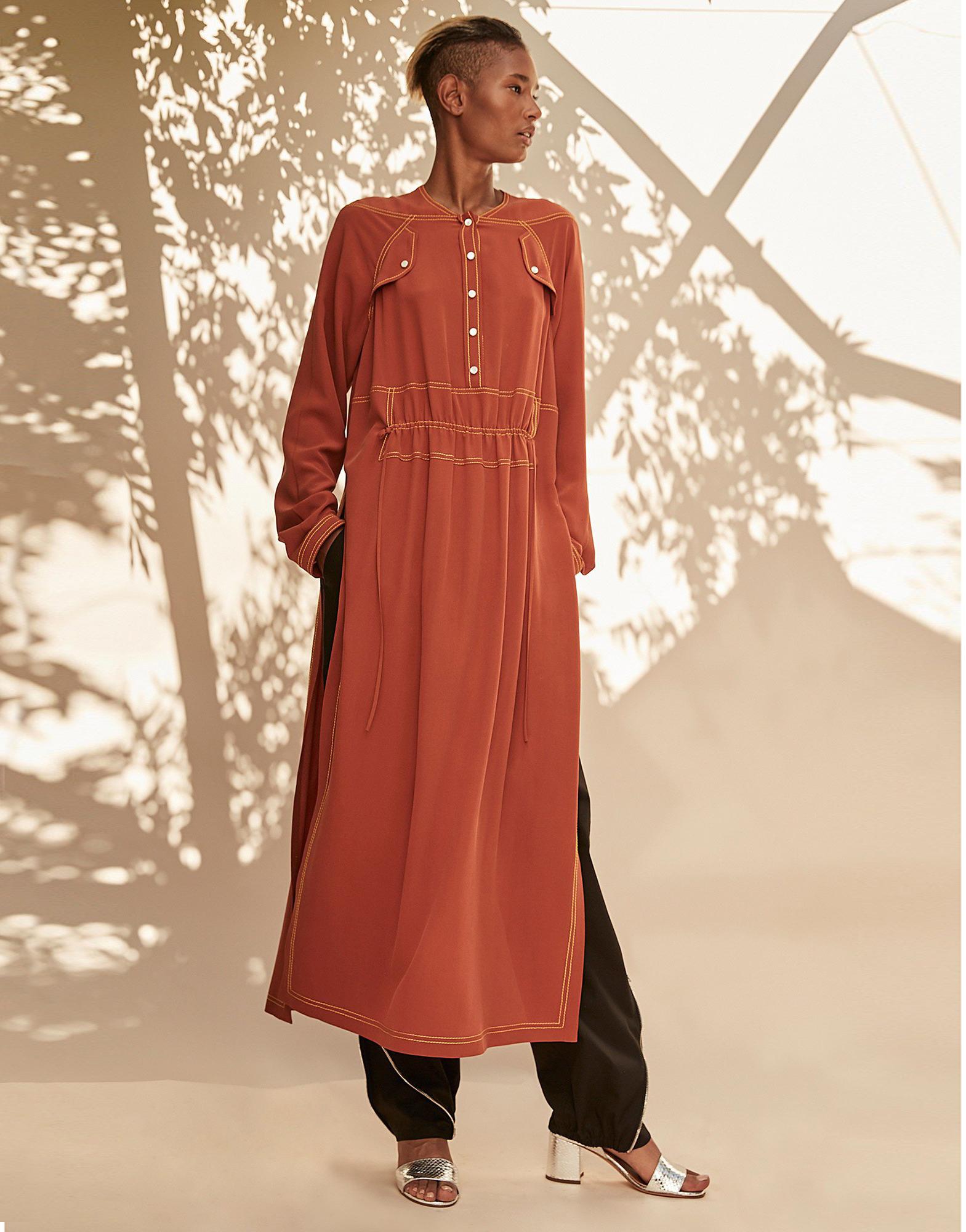 Длинные трикотажные платья выкройки