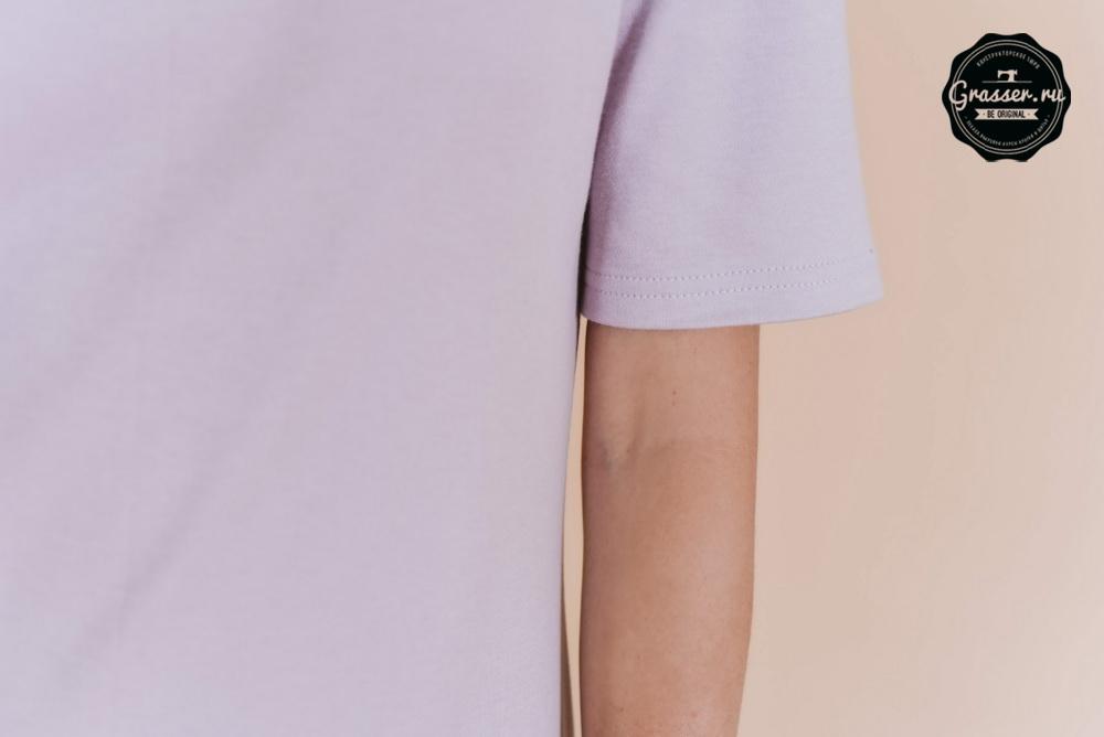 платье футболка выкройка