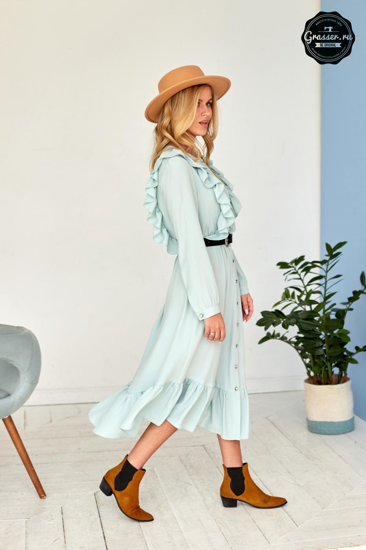 f6b8ebd407bd090 Платье, выкройка №672 купить on-line