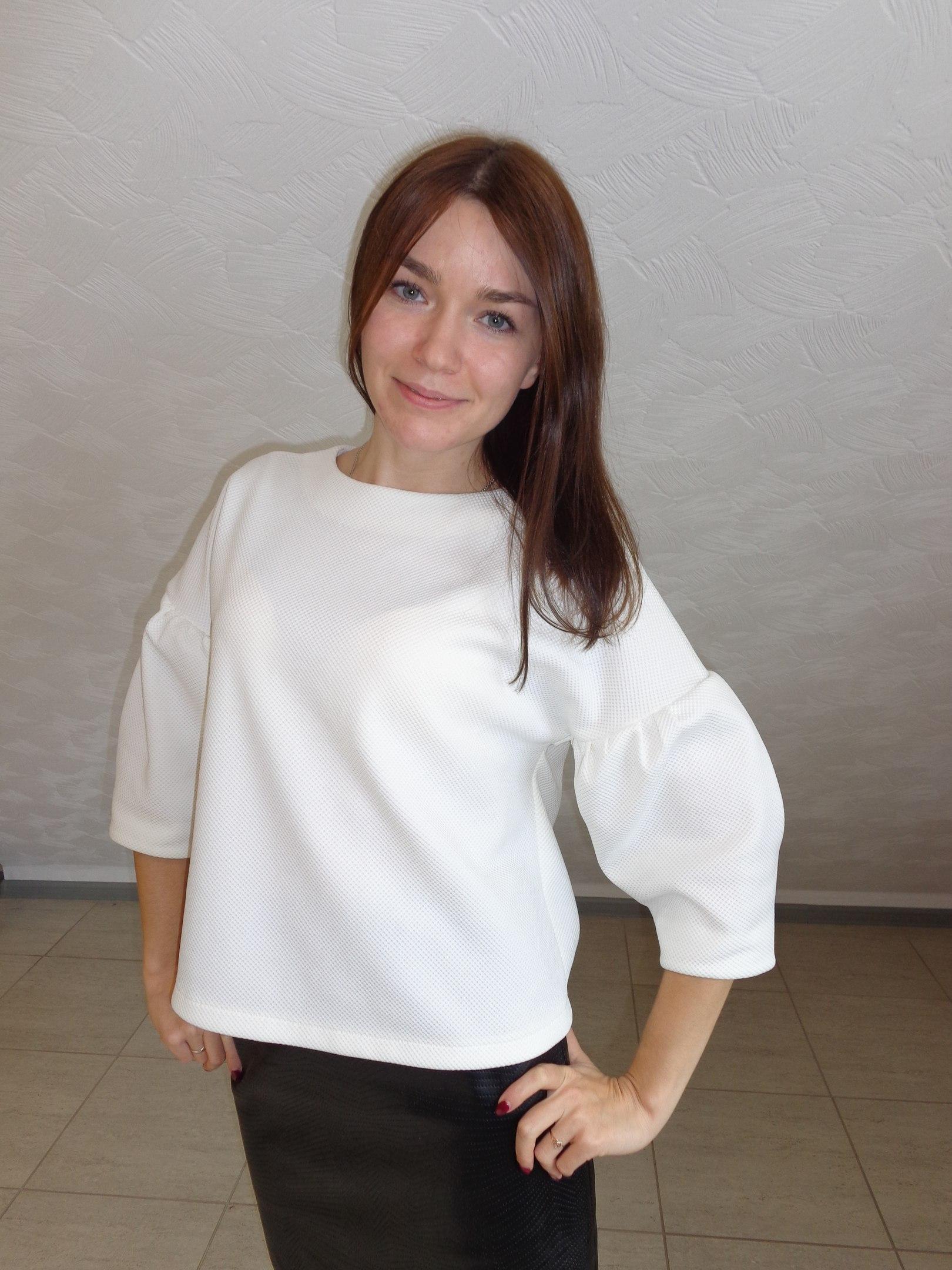 блуза длинная выкройка