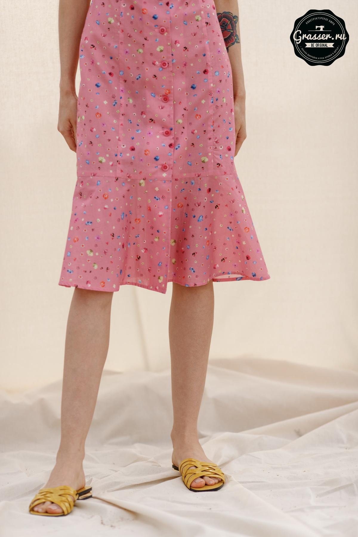 Летнее платье выкройка декоративные прищепки купить в москве
