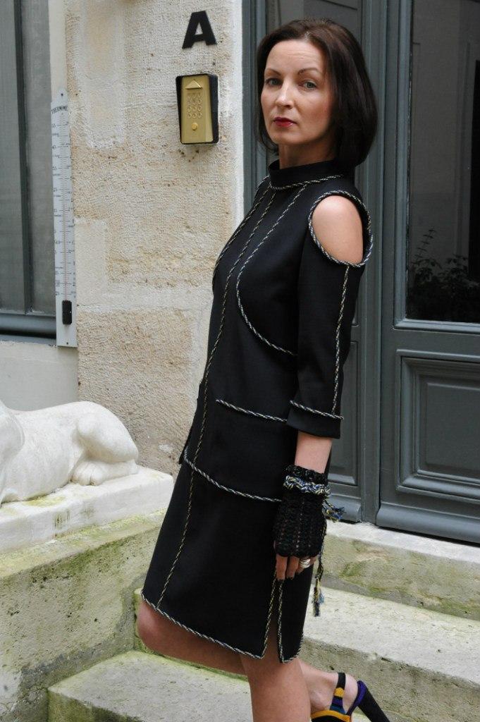Черное платье в деталях. Мастер-класс от Оксаны Туманцевой